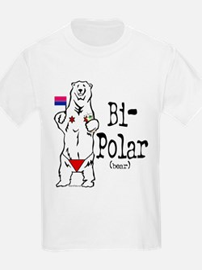 Bi-Polar (bear) Kids T-Shirt