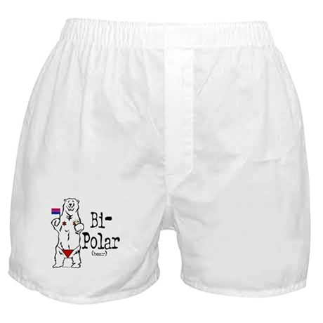 Bi-Polar (bear) Boxer Shorts