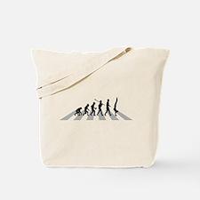 Hand Walking Tote Bag