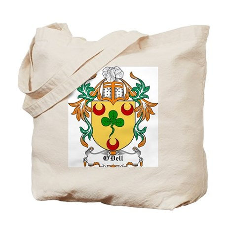 O'Dell Coat of Arms Tote Bag