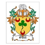 O'Dell Coat of Arms Small Poster