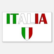 Italia Logo Decal