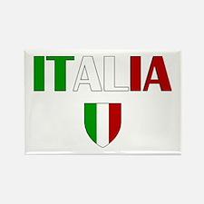 Italia Logo Rectangle Magnet (10 pack)