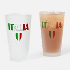 Italia Logo Drinking Glass
