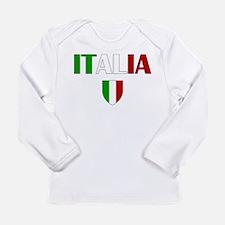 Italia Logo Long Sleeve Infant T-Shirt