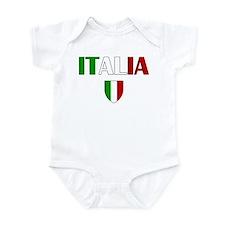 Italia Logo Infant Bodysuit