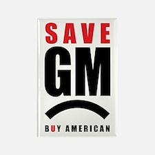 Save General Motors Rectangle Magnet (10 pack)