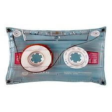 Clear Audio Cassette Pillow Case