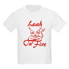 Leah On Fire T-Shirt