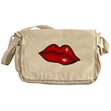 Lips Messenger Bag