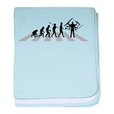 Weapons baby blanket