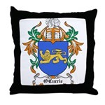 O'Currie Coat of Arms Throw Pillow