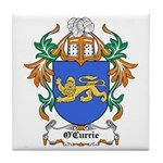 O'Currie Coat of Arms Tile Coaster