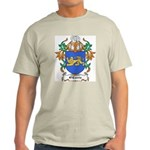 O'Currie Coat of Arms Ash Grey T-Shirt