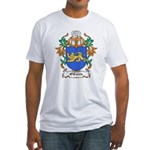 O'Currie Coat of Arms Fitted T-Shirt