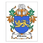 O'Currie Coat of Arms Small Poster