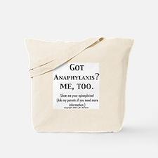 Unique Food allergies Tote Bag