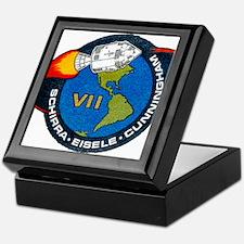 Apollo 7 Mission Patch Keepsake Box
