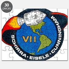 Apollo 7 Mission Patch Puzzle