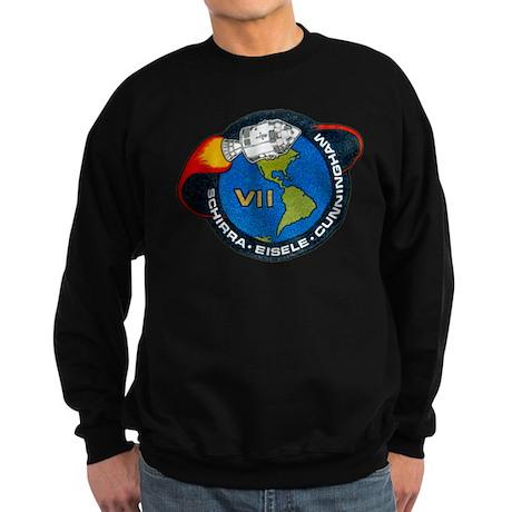 Apollo 7 Mission Patch Sweatshirt (dark)