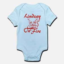 Lindsay On Fire Infant Bodysuit