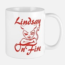 Lindsay On Fire Mug
