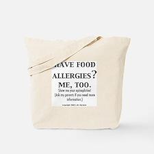 Cool Food allergies Tote Bag