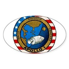 Apollo 1 Mission Patch Decal