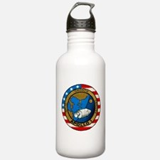 Apollo 1 Mission Patch Water Bottle