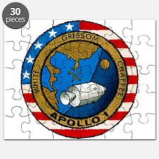 Apollo 1 Mission Patch Puzzle