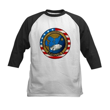 Apollo 1 Mission Patch Kids Baseball Jersey