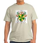 O'Crotty Coat of Arms Ash Grey T-Shirt
