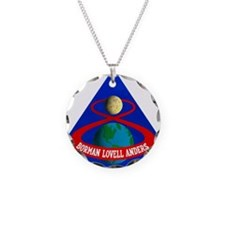 Apollo 8 Mission Patch Necklace