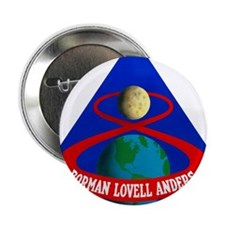 "Apollo 8 Mission Patch 2.25"" Button"