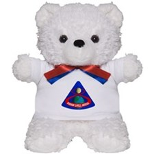 Apollo 8 Mission Patch Teddy Bear