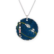 Apollo 9 Mission Patch Necklace