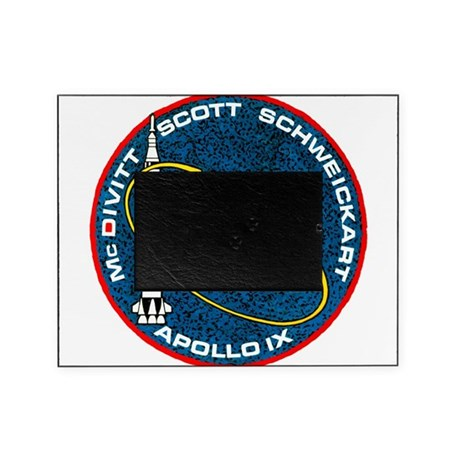 Apollo 9 Mission Patch Picture Frame