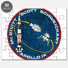 Apollo 9 Mission Patch Puzzle