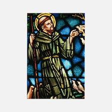 Saint Francis Rectangle Magnet
