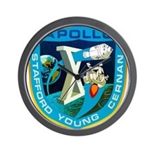 Apollo 10 Mission Patch Wall Clock