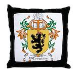 O'Cosgrave Coat of Arms Throw Pillow