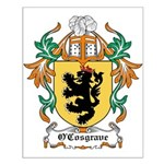 O'Cosgrave Coat of Arms Small Poster