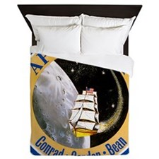 Apollo 12 Mission Patch Queen Duvet