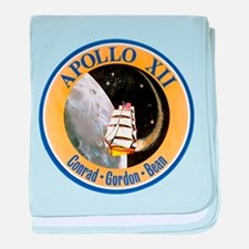 Apollo 12 Mission Patch baby blanket