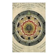 Cosmic Rose Postcards (Package of 8)
