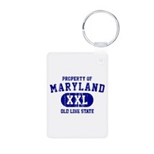 Property o Maryland, Old Line State Keychains