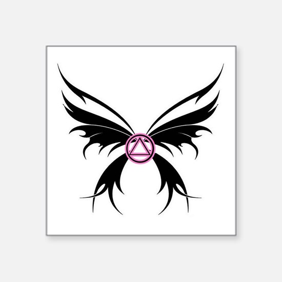 Womans Tribal Butterfly 2000x2000.png Square Stick