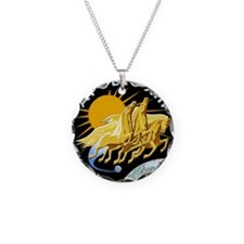 Apollo 13 Mission Patch Necklace