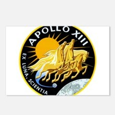 Apollo 13 Mission Patch Postcards (Package of 8)