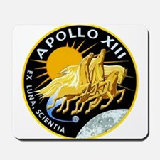 Apollo 13 Mission Patch Mousepad